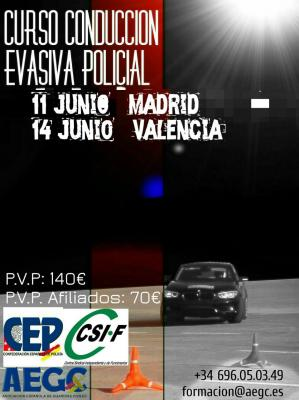Curso de Conduccion evasiva
